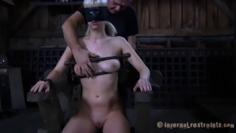 Fake tits Scarlet Disappointed seductively bend over in the event that misplaced applying dollhouse in BDSM