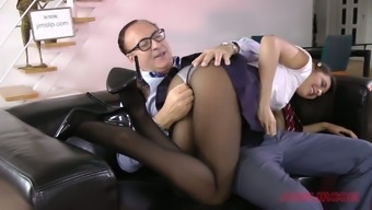 Nice svelte Carolina Abril serves as a vital coed girl who is skilled at sucking dick