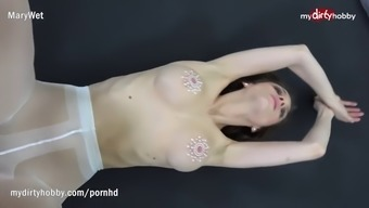 a language like german clit in pantyhose gets slammed and creamed