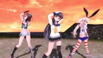 MMD NEE without ever panties