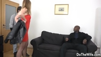 Homemaker Takes a Black Cock Up Her Ass