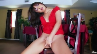 Lovely Marica Hase Masturbates Inside a Guitar solo Version Online video