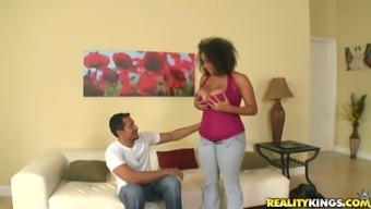 Big tits Selena Director gets fucked hard with her entrance and pussy