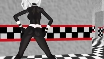 MMD FNIA Marionette Rising prices Butt!