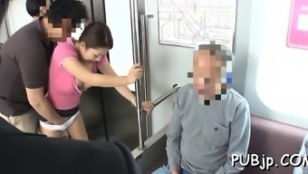 Gorgeous elegance lets a complete new person gangbang her government departments