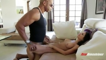 superb interracial sex for the skanky blonde trinity st. clair