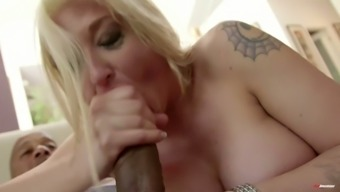 Sit back and watch just wild environment big tits blonde cowgirl Leya Falcon being analfucked by ideal bf