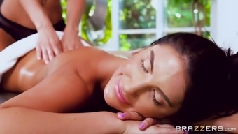 march ames getting massaged by madison ivy