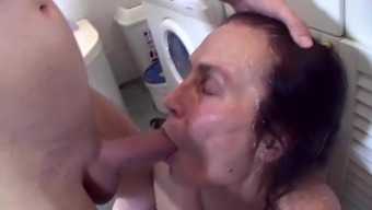 Proper cleaning female fucked roighly