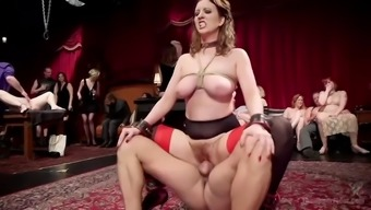 extreme bdsm fucking and fisting in government departments by using aiden starr and crimson torn
