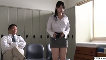 JAV stars developed teacher Rei Mizuna striptease Subtitled
