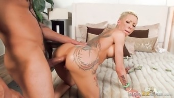 lovely bella bellz gets warm anal passage absorption doggystyle