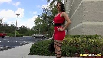 alexis rodriguez appeared to be identifide in a sexy high heels and upper legs