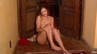 pornography sensation anastasia dark colored squirts within the floor