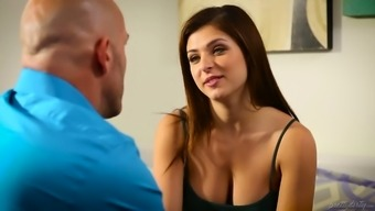 Attractive Leah Gotti serves as a tanned gangling cowgirl who might thirsts for regular sexual intercourse