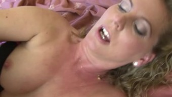 Eur round cougar the first occassion fucking an african american on cam
