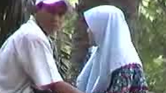 Pleasant newbie voyeur online video media with attractive Pakistani partners in the park