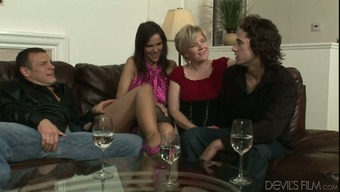 Kelly Taylor and Risk Caldwell are involved within a crazy swinger intercourse