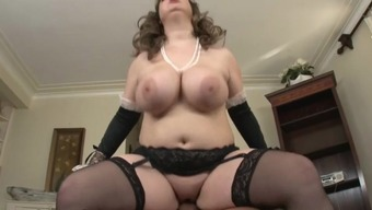 chunky big beautiful woman large tits maid for decent intercourse