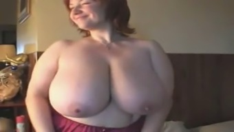 The country no more A Blonde Milf with the use of Big Boobs