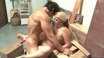 Chubby MILF gets fucked with some From asia bf within the service create space