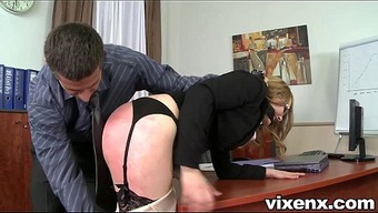 Poor counter abused by spanking and anal sexual intercourse