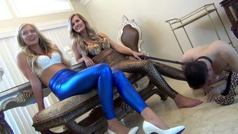 Sexy Mistresses along with Leg Cash source