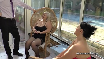 Males stripper gets blessed with the use of granny and grow older