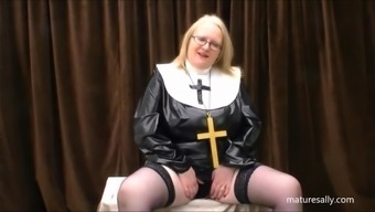 Exactly what does a nun put on underneath her habit!!!!