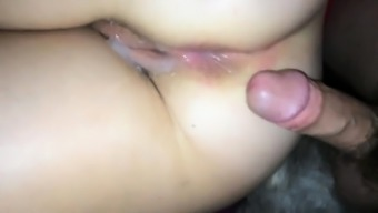 Voayercams.com-Amateur Cuming on her pussy and anal close up