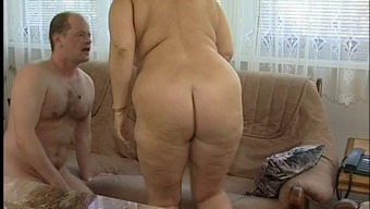 Wonderful Excess weight Titted Furry Granny