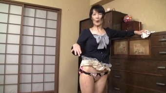 Grow older Japanese people female considering the family home contributes by using herself