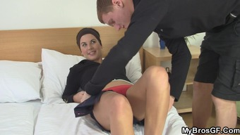 His special wife blows and excursions another cock!