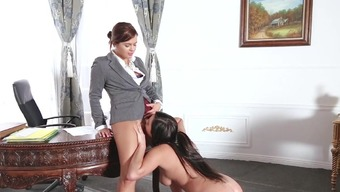 Lesbian desire between hot Keisha and Karlee