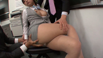I let my horny professionals possess the privilege of touching my tits and legs