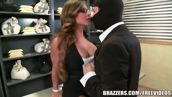Madison Ivy's excellent butt gets split by her hiring managers junk