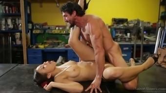 Sit back and watch Adrian Maya consider her lover's tough cock within the assortment of assignments