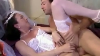 Soon to be bride anal love-making Fisting fuzzy pierced pussy