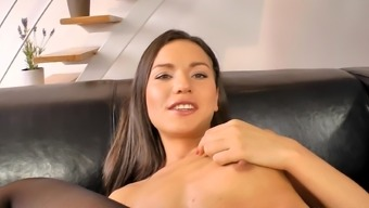 Young blonde Nataly Cash cow and old cock