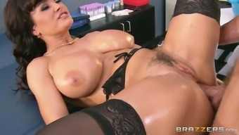Oversexed dark milf gets her crimson fucked in greyhound dog and christian missionary assignments