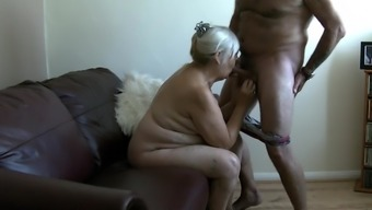 sixty-eight 12 months Old Granny Drains Penis