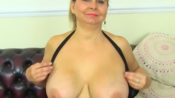 Busty milf Alexa doesn't dress knickers at present