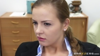 Chubby Love By using Big Genuine Titties Loving A Hardcore Fuck Within a Classroom