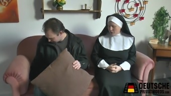Nun along with huge titties