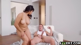 horny companion mia li receives a steaming sex with neighboring town