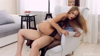 A few emotional and wild fuck sitting with the use of horny Katarina Muti