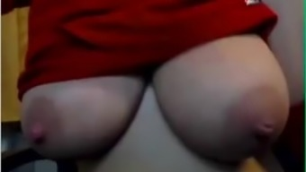 Delicate genuine tits with major nipples