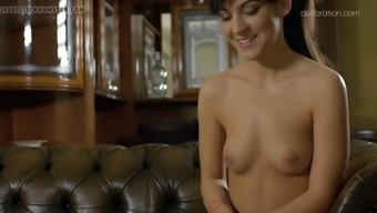 fantastic bella beretta being rubbed and demonstrates her horny human body