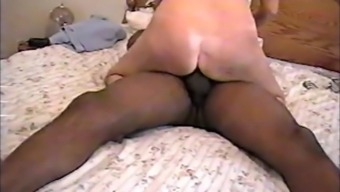 Light Wifey going on a Huge Black Penis