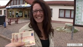 Big tits a language like german prostitute gets fucked for money